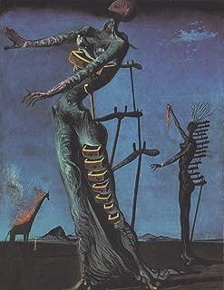 Odsan Gallery Flaming Giraffe - By Salvador Dali - Canvas Prints 16