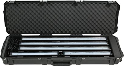 SKB 3I-5014-LBAR iSeries LED Light Bar Case 50 x 14 x 6 Inches with Custom Foam with Wheels