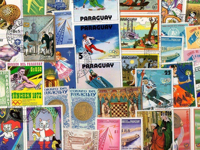 oferta especial Pghstamps Paraguay 1000 Colección de de de Diferentes Sellos para coleccionistas  ordene ahora los precios más bajos