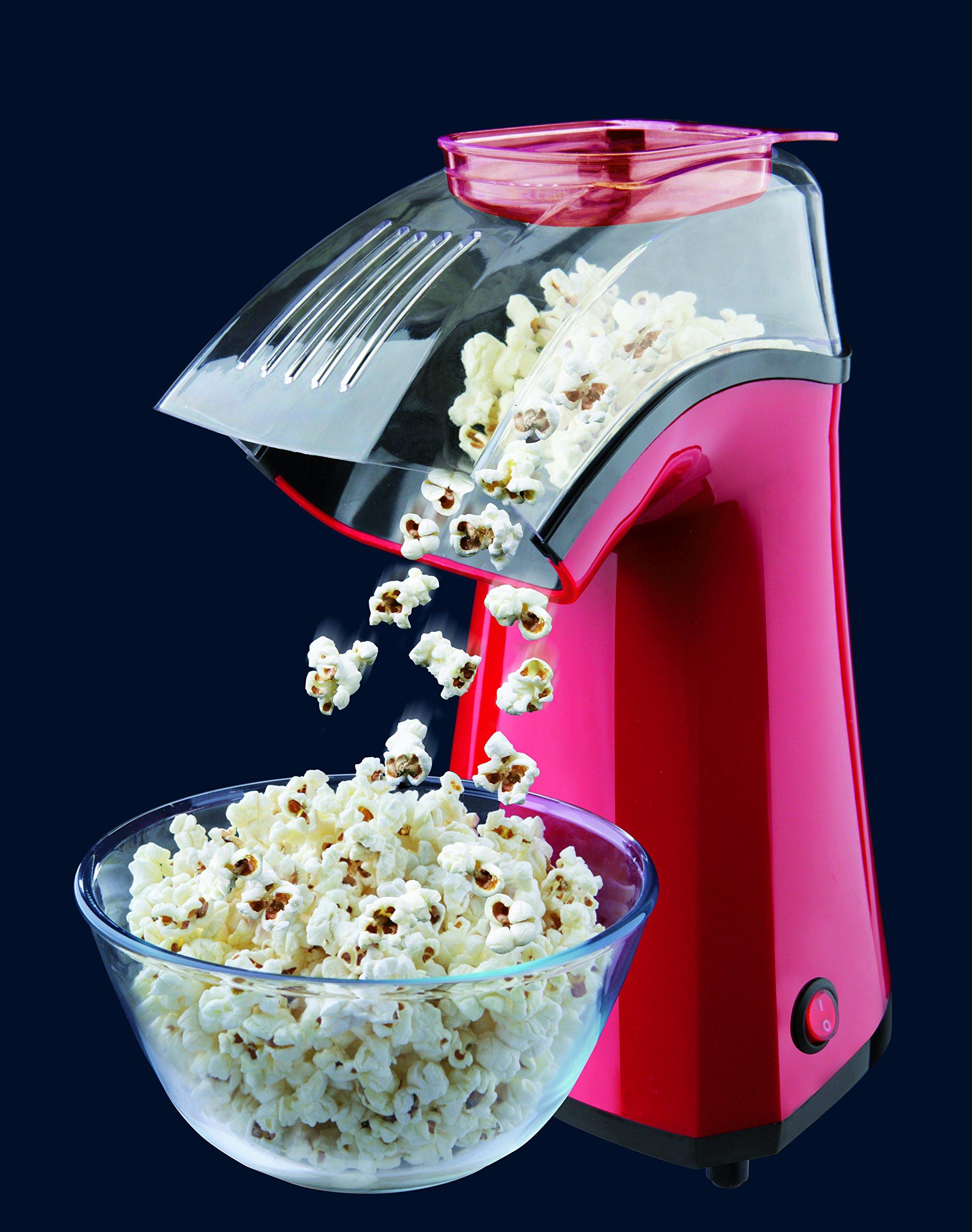 Taurus PopNCorn Máquina para hacer palomitas, 1100 W, Plástico, Rojo: Taurus: Amazon.es: Hogar