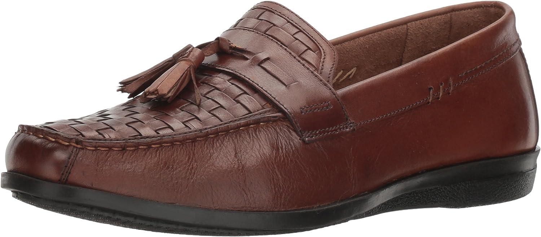 Dockers Men's Hillsbgold Slip-on Loafer, Antique Brown, 9 M US