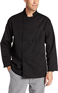 Dickies Hospitality White Knot Button Grand Master Chef Jacket In Sizes 36-46