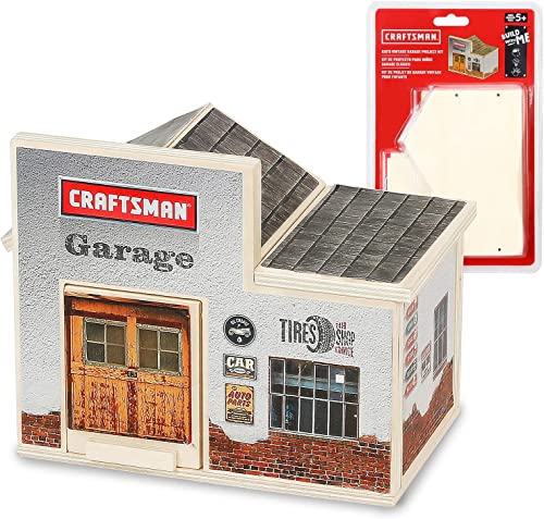 new arrival Craftsman Woodworking Garage Project Kit for Kids, outlet sale Educational Toy Realistic Carpentry Garage Construction, Take-along Gift for Teen Boys & Girls, Age wholesale 5+ online sale