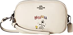 COACH - Box Program Snoopy Crossbody Clutch