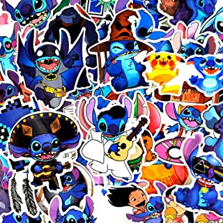 52 Pcs/Lot Classic Lilo Pelekai Monster Stitch Stickers for Motorcycle Skateboard Refrigerator Package Box Guitar Funny Stickers