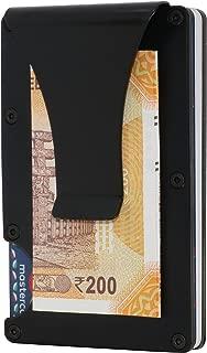 FANTOM RFID Blocking Black Money Clip