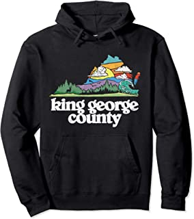 King George County Virginia Outdoors & Nature Lover Pullover Hoodie