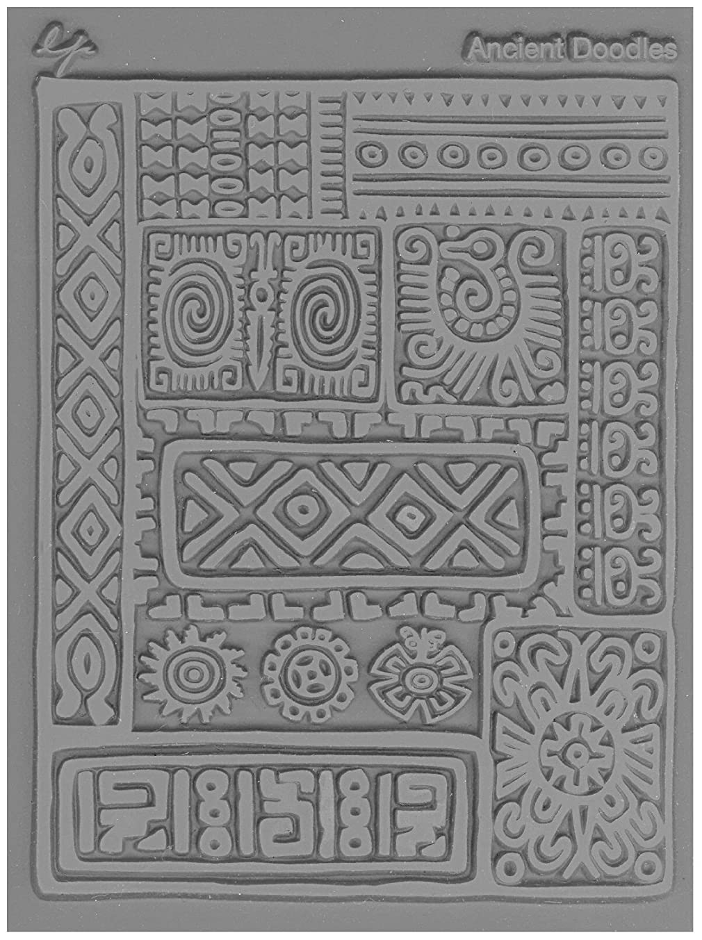 Lisa Pavelka Texture Stamp Ancient Doodle (Style #034)