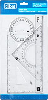 Kit para Desenho Colegial Académie,Tilibra - 1 un