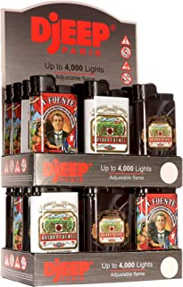 24 Djeep Arturo Fuente Lighters