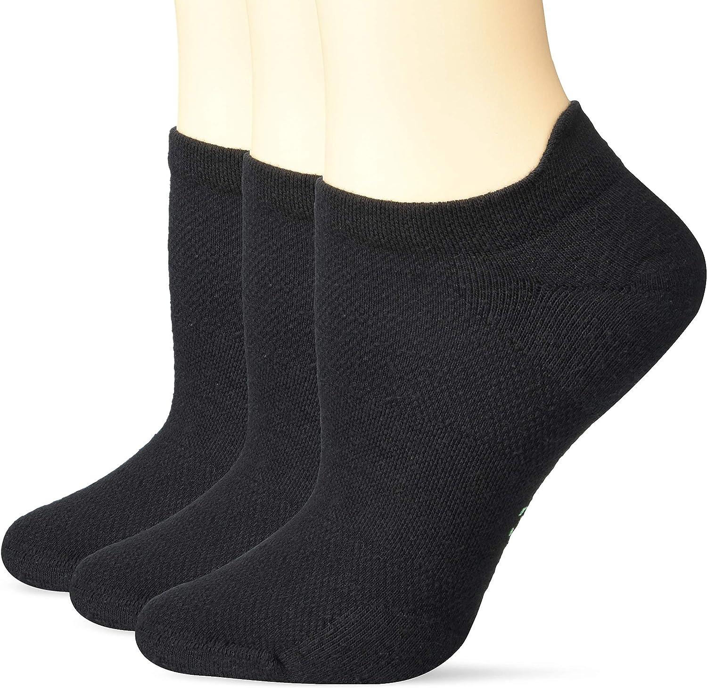 Hue Womens Air Sport 3 Pair Pack No Show Socks