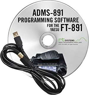 ADMS-891 Programming Software and RT-42 USB-A to USB-B cable for the Yaesu FT-891