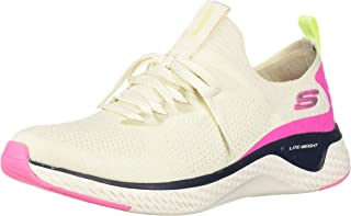 Skechers Solar Fuse Color Block Chunky Sole Lace-up Training Shoes for Women