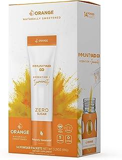 Sponsored Ad - LIFEAID IMMUNITYAID GO! Zero Sugar Immunity + Hydration Packet, Vitamin C, Echinacea, Zinc, Astragalus Roo...