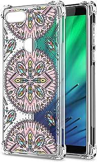 Oihxse Cristal Compatible con Sony Xperia 1I Funda Transparente TPU Silicona Estuche Airbag Esquinas Anti-Choque Anti Rasg...