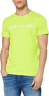 Calvin Klein Institutional Logo Slim SS Tee T-Shirt Uomo