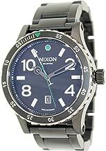 NIXON Men's Quartz Watch with Stainless Steel Strap, Black (Model: A277-1421