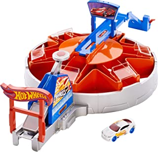 Hot Wheels Launching Garage Playset