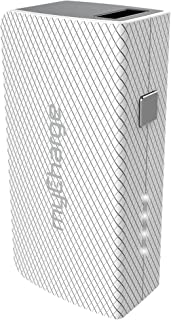 myCharge AmpPlus Portable Charger Dual USB Port (AmpMini (2600mAh) - White)