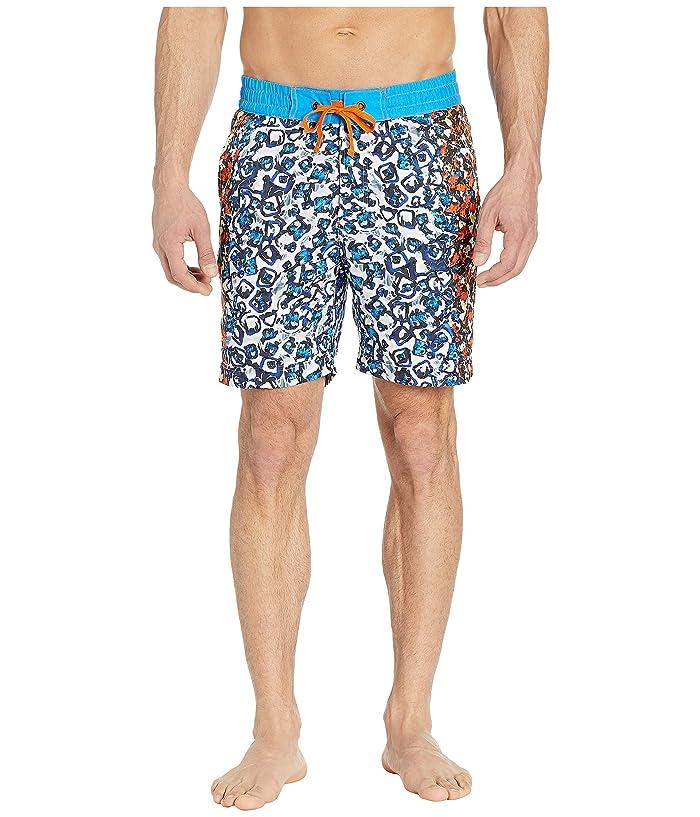 Robert Graham Blue Moon Woven Swim Shorts (Multi) Men