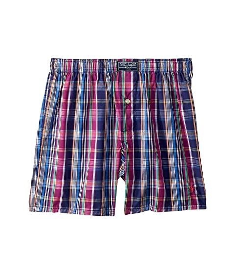 57a4c47a1421 Polo Ralph Lauren 50s Classic Woven Boxer at 6pm