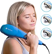TheraFlow Handheld Deep Tissue Percussion Massager. Muscles, Back, Body, Neck, Foot, Shoulder, Scalp, Head. Trigger Point ...