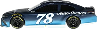 Lionel Racing 15090 NASCAR Authentics 2018 Martin Truex Jr # 78 Auto Owners Insurance Lionel Racing Diecast, Blue, White; 1: 24 Scale