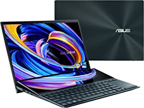 """ASUS ZenBook Pro Duo 15 OLED UX582 Laptop, 15.6"""" OLED 4K UHD Touch Display, Intel Core..."""