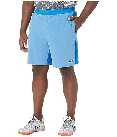 Nike Big Tall Flex Shorts Active (Battle Blue/Psychic Blue/Black) Men