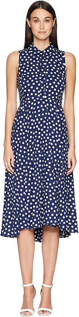 Cloud Dot Midi Dress