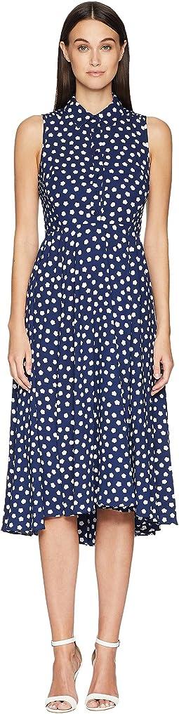 Kate Spade New York Cloud Dot Midi Dress