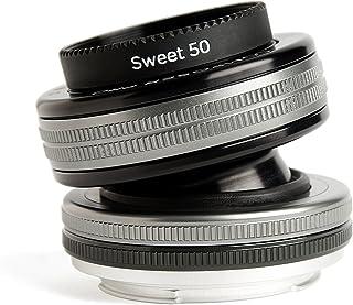 Lensbaby LB 3U8N Composer Pro II mit Sweet 50 Optik für Anschluss Nikon F schwarz