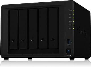 【NASキット】Synology DiskStation DS1019+ [5ベイ / クアッドコアCPU搭載 / 8GBメモリ搭載] 高性能5ベイ高性能NAS 正規国内代理店サポート対応