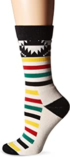 Pendleton Women's Merino Jacquard Park Crew Socks
