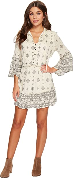 Jack by BB Dakota - Andee Mixed Print Dress