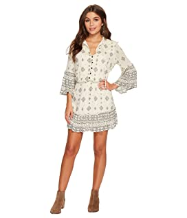 Andee Mixed Print Dress
