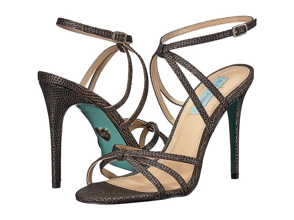 Blue by Betsey Johnson Myla (Black/Gold) High Heels