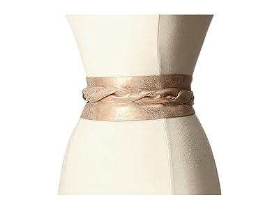 ADA Collection Obi Classic Wrap Belt (Rose Shimmer) Women