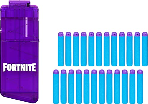 popular NERF Fortnite 12-Dart Clip & 24 Official new arrival Elite Darts -- Refill Pack for Fortnite Elite Blasters high quality -- for Youth, Teens, Adults outlet sale