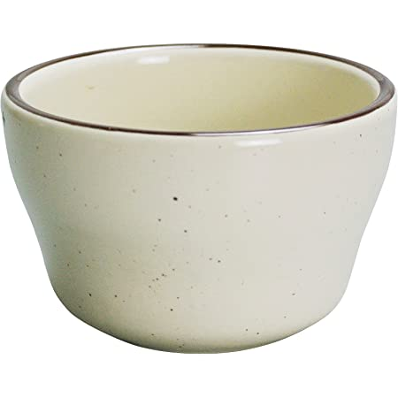 Yanco Br 4 Brown Speckled Bouillon Bowl 7 25 Oz Capacity 4 Diameter 2 25 Height China American White Color Pack Of 36 Industrial Scientific
