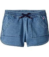 Becca Jersey Drawstring Shorts (Toddler/Little Kids/Big Kids)