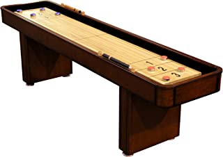 Fairview Game Rooms 9 Foot Shuffleboard with Hidden Storage Cabinet
