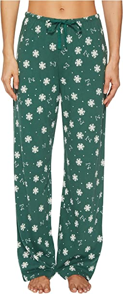 Life is Good - Snowflakes Jersey Sleep Pant