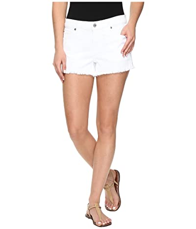 7 For All Mankind Cut Off Shorts in Clean White (Clean White) Women