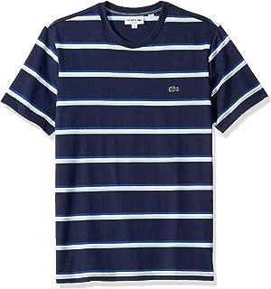 Lacoste Men's S/S Striped Jersey T-Shirt