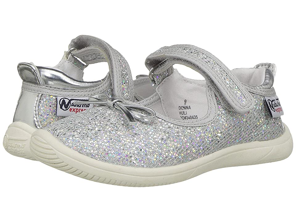 Naturino Express Donna (Toddler/Little Kid) (Silver) Girls Shoes