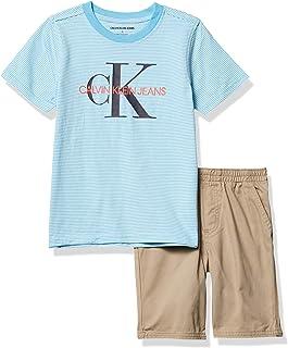 Calvin Klein Juego de pantalones cortos de 2 piezas. Set de pantalones cortos para Niños