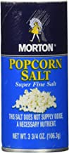 Morton Popcorn Super Fine Salt 3.75-oz 3 Pack