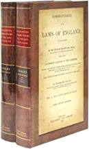 Blackstone's Commentaries on the Laws of England: Four books in 2 volumes