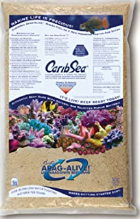 CaribSea Arag-Alive Special Grade Reef Sand, 20-Pound